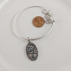 Alex and Ani Rafaelian Silver Friend Bracelet